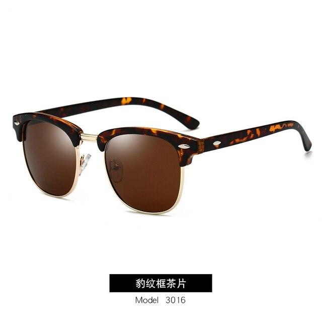 GUANGDU-Gafas de sol polarizadas para hombre y mujer, lentes de sol con marco de policarbonato tipo ojo de gato, de estilo clásico, protección UV400, modelo RB3016 6
