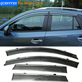 Car Stylingg Awnings Shelters 4pcs/lot Window Visors For Mazda CX-5 2012-2016 Sun Rain Shield Stickers Covers