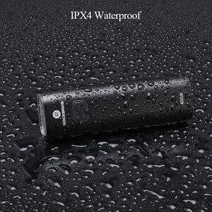 Image 4 - ROCKBROS 400LM luce per bici faro per bicicletta con supporto per montaggio IPX3 USB torcia ricaricabile per bici Combo supporto anteriore esterno