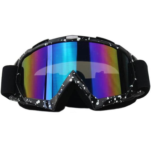 4825886a378 OSHOW Ski Goggles Women Snow Sunglasses Helmet Accessories Single Lens  Glasses Universal Sport Racing Off Road Glasses