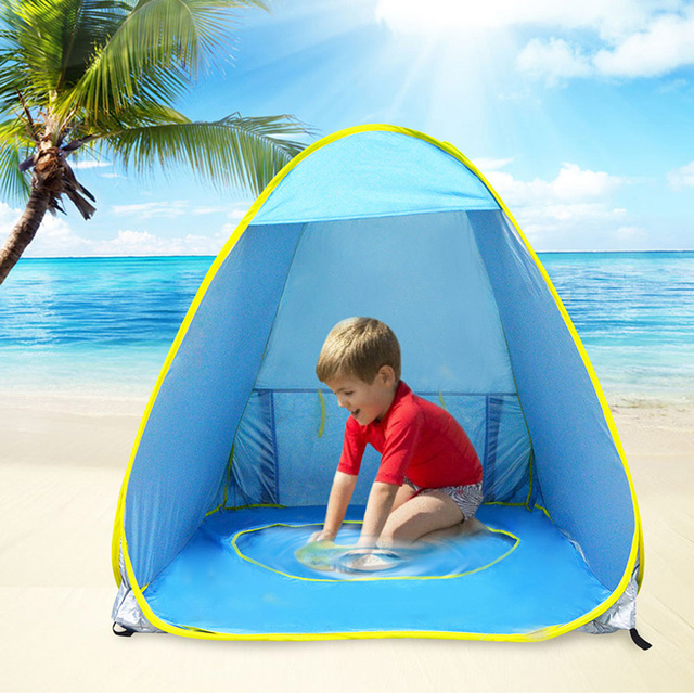 Baby Outdoor Beach Tent Portable Instant Pop Up Infant Pool Anti Uv Shade Shelter