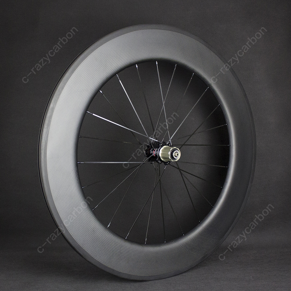 Aerodynamic Wheels U Shape 25mm Width Carbon Wheelset 90 Full Carbon With R13 Upgraded Hubs 275g