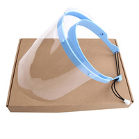 Free Shipping 1 Frame With 10films Dental Protective Cover Detachable Face Shield Replacement Covers