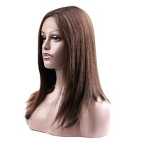 Brazilian Non Remy Straight Hair Wig Lace Front Hair Wigs Human Hair Wigs For Black Women #4 #2 #1b