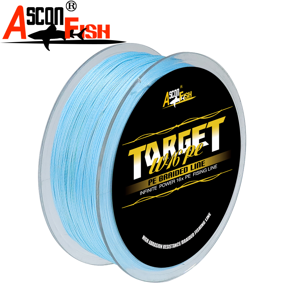 Image 5 - Ascon Fish 16 Strands Braided Fishing Line 300m for Cord Fishing Capr 16 Braids Multifilament Line20 500LB Green-in Fishing Lines from Sports & Entertainment
