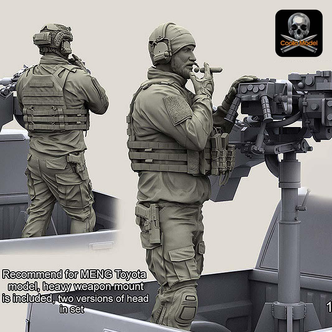 1/35 US Navy Seals Resin Soldier YF - 112