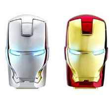 J-boxing 64GB USB Flash LED Iron Man Memory Stick 2.0 Pendrive 64gb Robot Thumb Drive Storage for Computer Laptop Mac Tablet