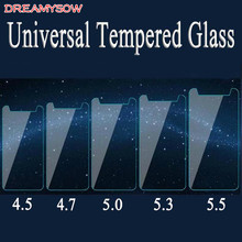 Hd 9 h universal vidro temperado anti-shatter película protetora para 4.0 4.5 4.7 5.0 5.3 5.5 5.7 6.0 polegada ultra fino protetor de tela