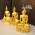 Buddha statue/ Medicine Buddha copper statue of Buddha Amitabha Buddha ornaments Sambo copper statues