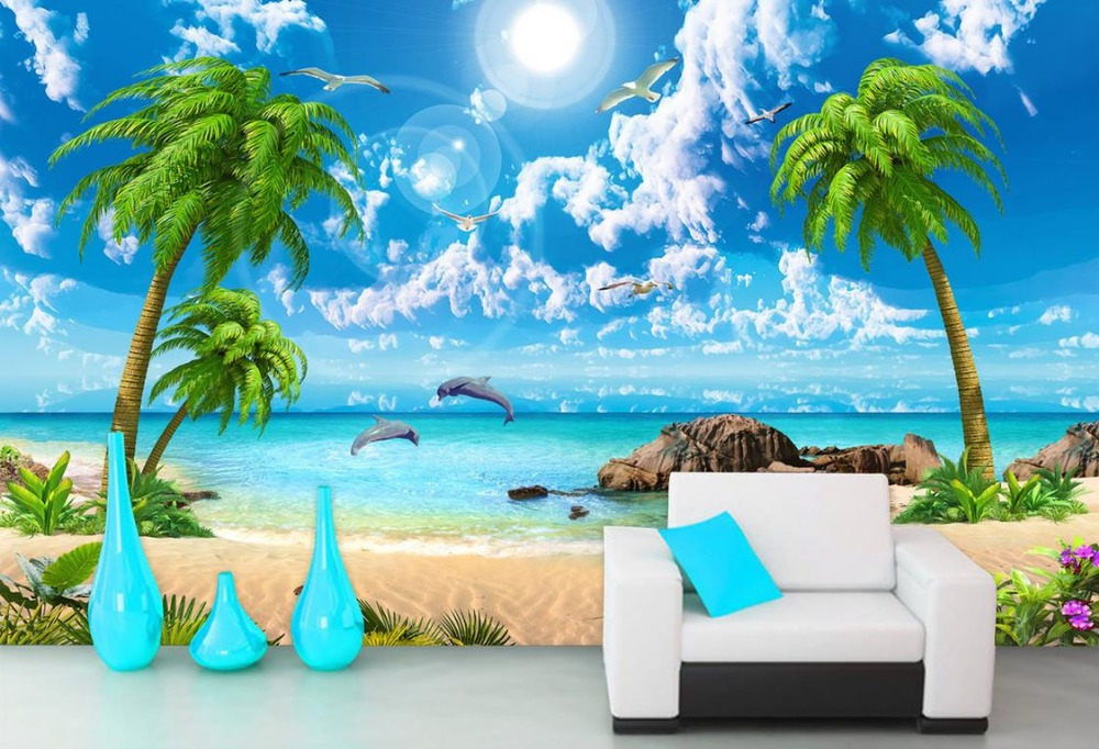Wallpaper Scenery For Walls Custom 3d Background Wallpapers