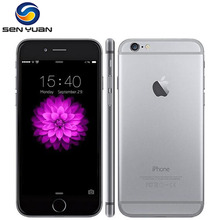 100% Original iPhone 6 Unlocked 4.7 Inch Dual Core 1.4 GHz 1GB RAM 16/64/128GB ROM 8MP Camera IOS IPS Mobile Phone(China)