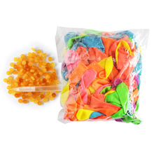 120pcs Latex Balloon and 120pcs Rubber Water Balloons Beach Toys Multicolor Inflatable ball Summer Outdoor Toys