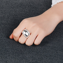 Everoyal New Arrival Female Zircon Rings Jewelry Lady Popular Silver 925 Sterling For Girl Accessories Women Birthday Gift