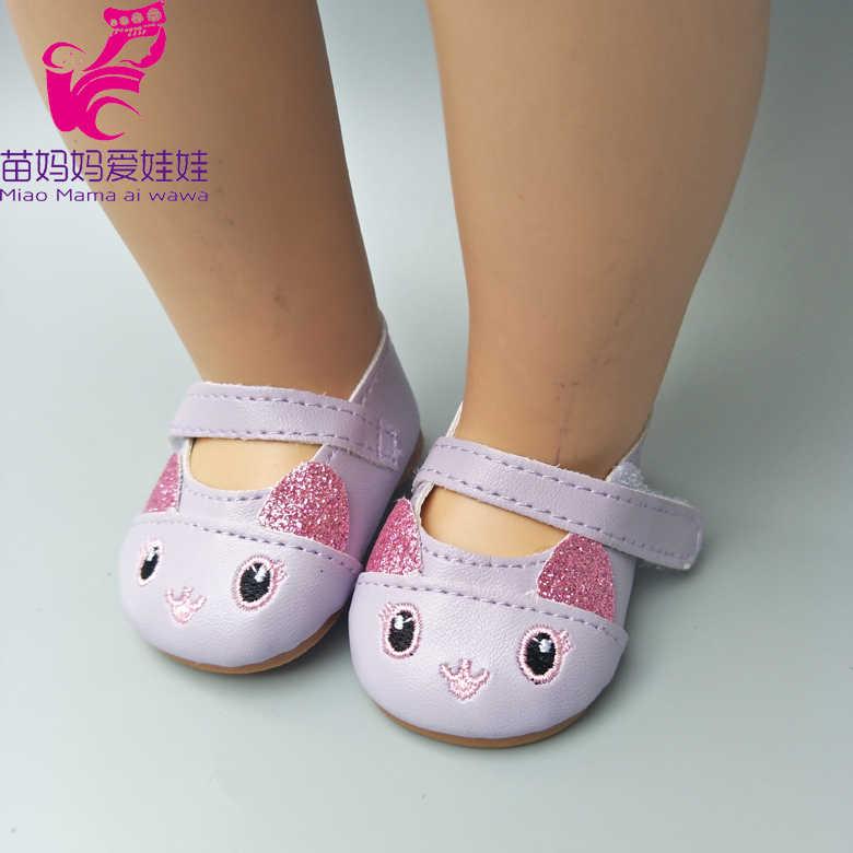 Обувь для кукол подходит для 43 см новорожденных Туфельки для кукол 18-дюймовая кукла милая Обувь Аксессуары для кукол