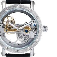 Transparent Mężczyźni Zegarki Automatyczne Mechaniczne 2016