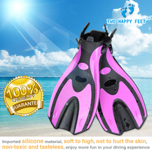 lady fashional Diving Flippers Fins  adjustable free shipping