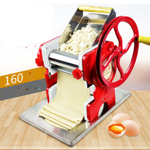цена на 160 Household Manual noodles machine stainless steel pasta machine Pasta Maker Machine Commercial Use 16cm noodle roller width