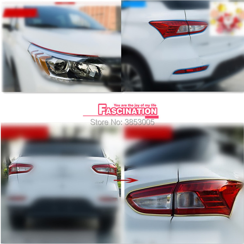 NEW Car styling tire rim protection stickers for toyota chr Nissan 370z honda grom mercedes benz mini cooper s r56 ford emblem Honda Grom
