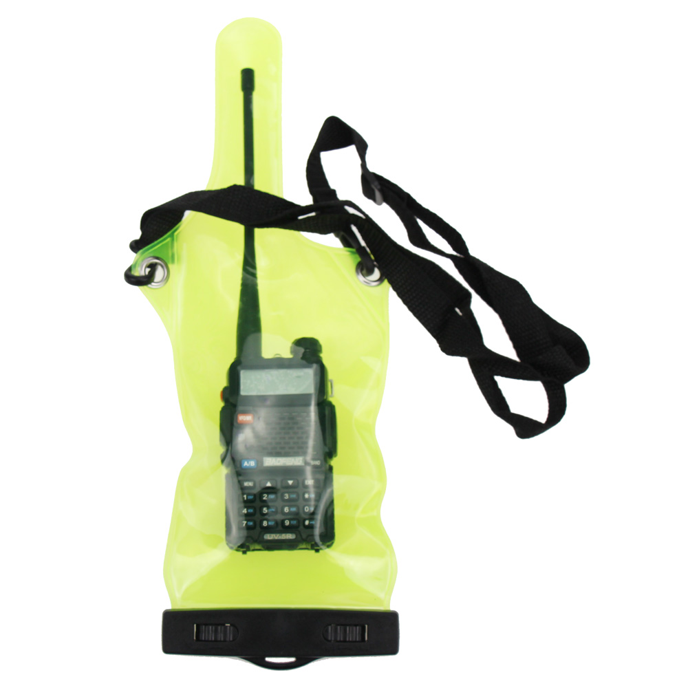 Universal Walkie Talkie Waterproof Bag Case Cover For Motorola Baofeng UV-5R UV-B2 A58 888S Two Way Radio Plastic Bidirectional