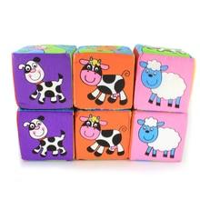 Infant Baby Cloth Building Blocks