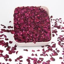 Натуральный аромат сушеные лепестки роз Свадебные и вечерние настольные конфетти декорация биоразлагаемые Лепестки розы 5 г