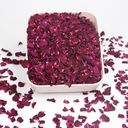 100% новый натуральным ароматом сушеные лепестки роз для свадьбы и праздника стол конфетти декорация биоразлагаемые из розовых лепестков дл...
