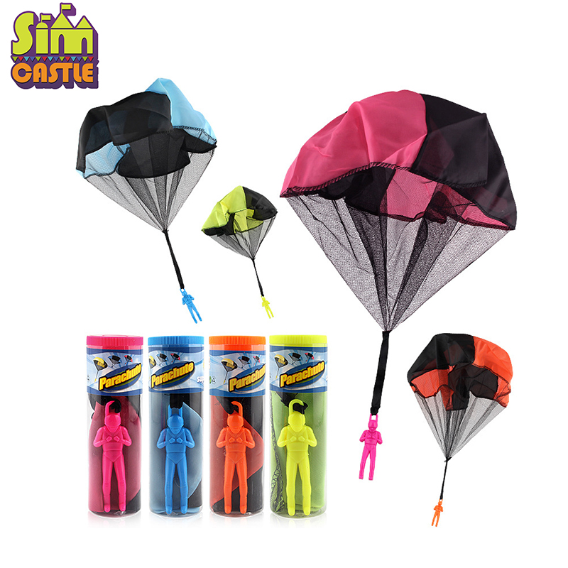 Funny Hand Throwing Kids Mini Play Parachute Toy Soldier Outdoor Sports Children's Educational Toys For Children Kids