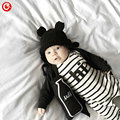 Baby Rompers Children Autumn Clothing Set Newborn Baby Clothes Cotton Baby Rompers Long Sleeve Girl Clothing Striped Jumpsuits
