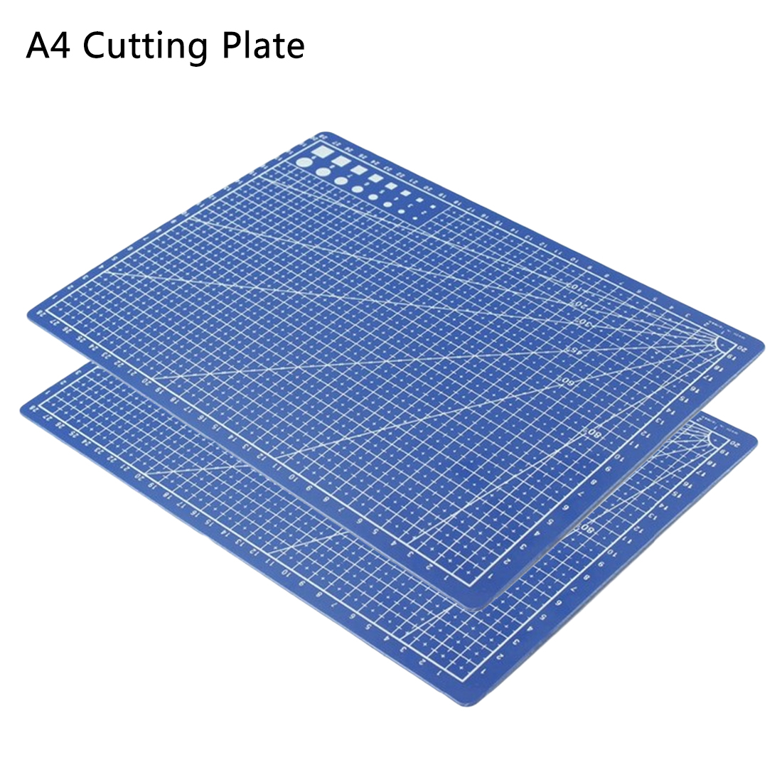 1PC Double-side A4 Cutting Plate Grid Lines Self Healing Cutting Mat Craft Card Paper Board For Office Supplies