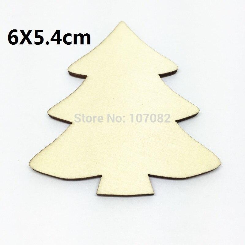 50 unids gran tamaño natural Navidad árbol Adornos chips artesanías ...
