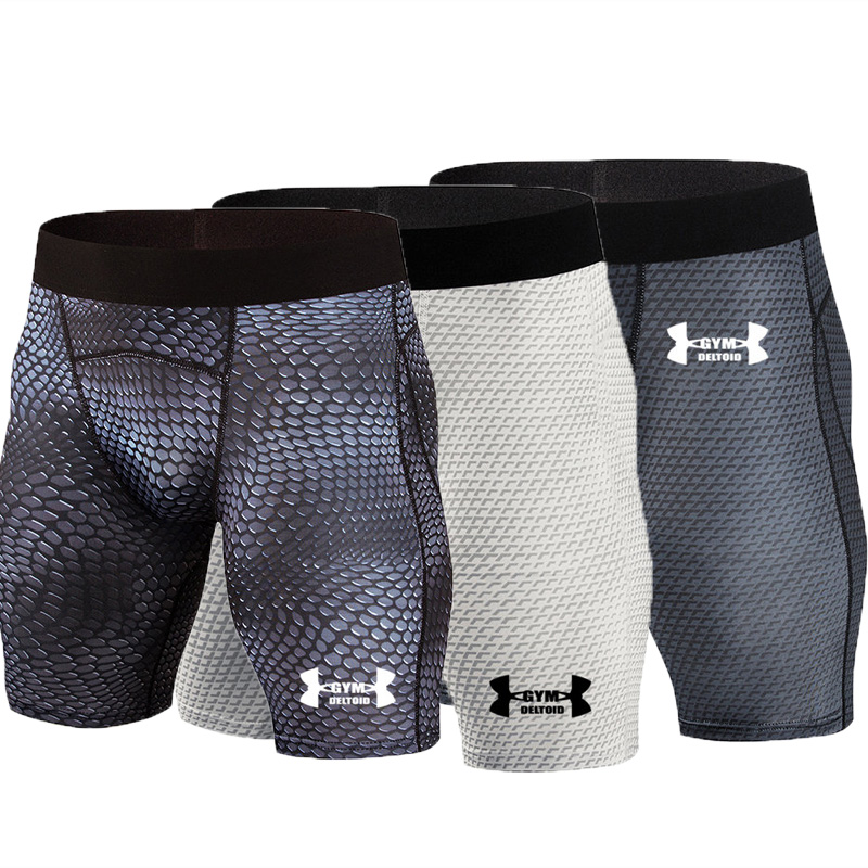 Leggings Underwear Short Running-Tights Compression Fitness Male Men's Gym Brand Quick-Dry