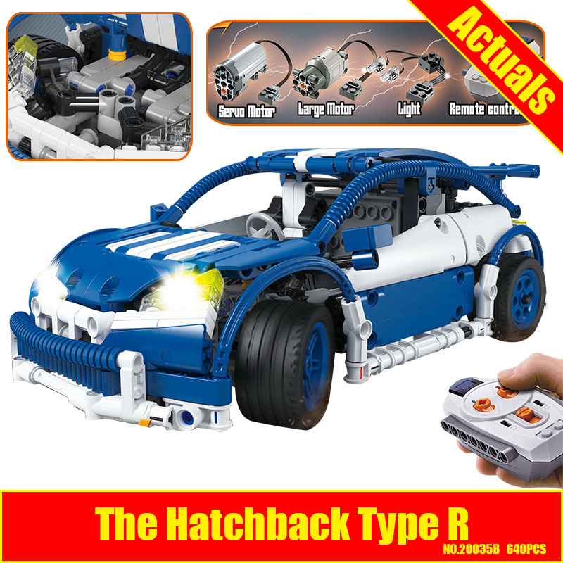 Lepin 20053B Genuine New Technic Series The Hatchback Type R Set MOC-6604 Building Blocks Bricks Educational Toys Gifts