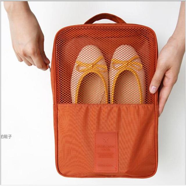 Convenient Travel Storage Bag  6 Colors Portable Organizer Bags Shoe Sorting Pouch multifunction