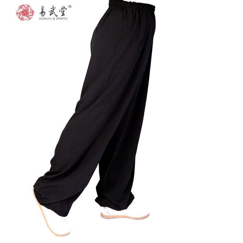 Китайские боевые искусства Брюки Тай Чи Брюки Кунг-фу Униформа Ву Шу одежда и cKung фу Брюки