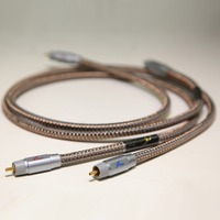 MPS M 9G HiFi 99 99997 OCC 24K Gold Plated Plug Connector RCA Audio Cable DVD