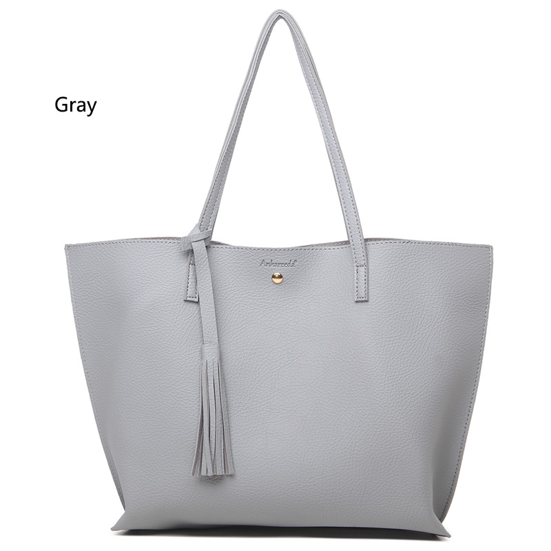35d799896 Ankareeda Top-Handle Bags Women's Soft Leather Handbag High Quality ...