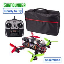 SunFounder 250 FPV Drone Quadcopter Bingkai Kit CC3D Controller 12A Simon Motor Balap Terbang Helikopter QAV250 4-Axis Dron MT2204
