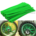 72Pcs Universal Motorcycle Dirt Bike Enduro Off Road Wheel Rim Spoke Shrouds Skins Covers For KTM HONDA YAMAHA KAWASAKI 6 Colors