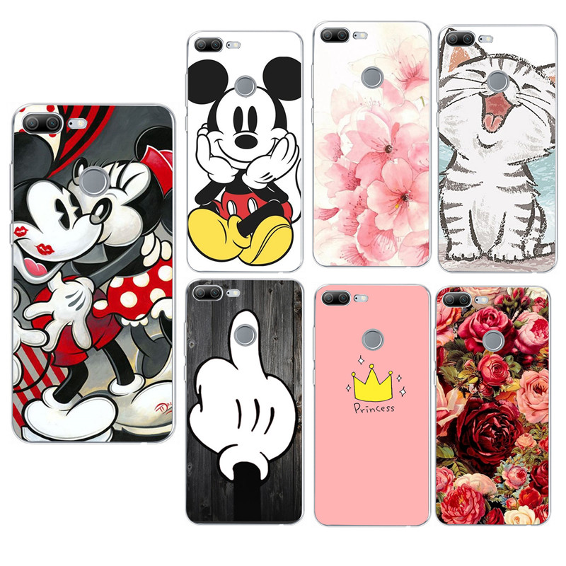 Silicone phone Cases For huawei honor 9 lite Case soft TPU Phone Back cover For Huawei P20 P9 Mate 10 20 Lite Pro P Smart Shell