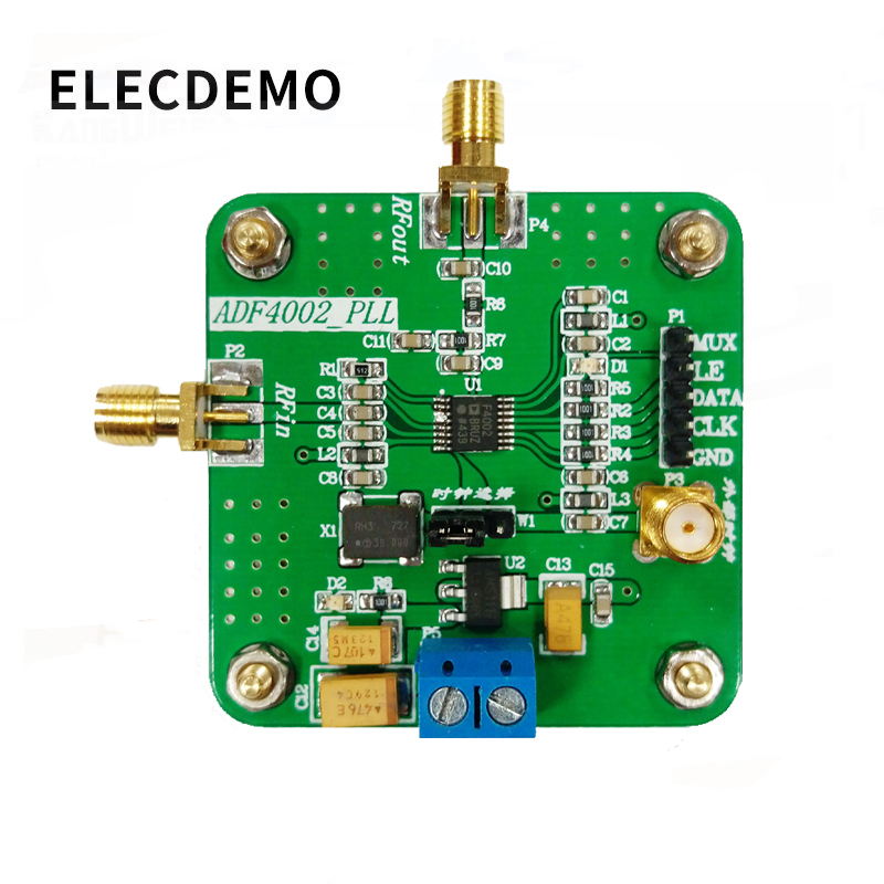 Image 3 - ADF4002 Module High Frequency Phase Detector Phase Locked Loop Module Send Drive Source Program Genuine Specials-in Demo Board Accessories from Computer & Office