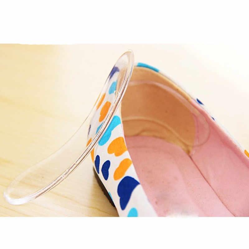 SAGACE Schuhe Einlegesohle Frauen Mädchen Dame 2PCS 10cm Silikon Gel Ferse Kissen schutz Fuß füße Pflege Pad Fuß pflege Ferse Tragen Sticke