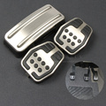 Stainless steel Car Pedal Pads Cover MT for Ford Focus 2 MK2 Focus 3 MK3 Focus 4 MK4 ,auto accessories
