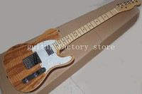 Custom shop TL guitar spalted maple top vintage tuner,free shipping