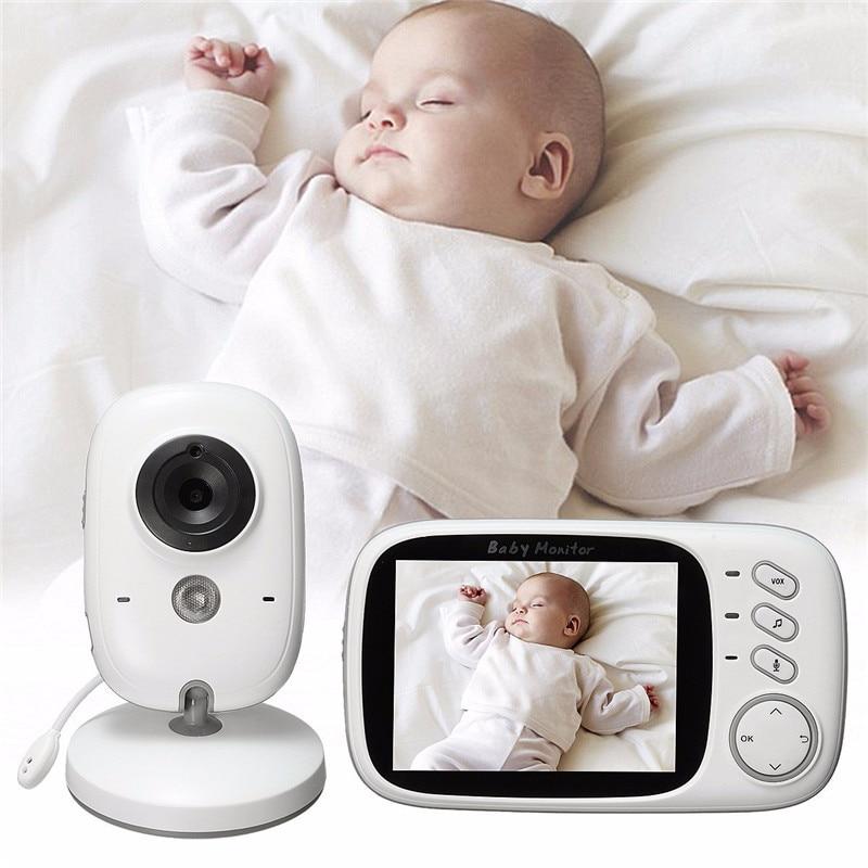 babykam babyfoon camera baby monitor 3.2 inch Intercom IR Night Vision Temperature Sensor Lullaby baby camera video baby monitor