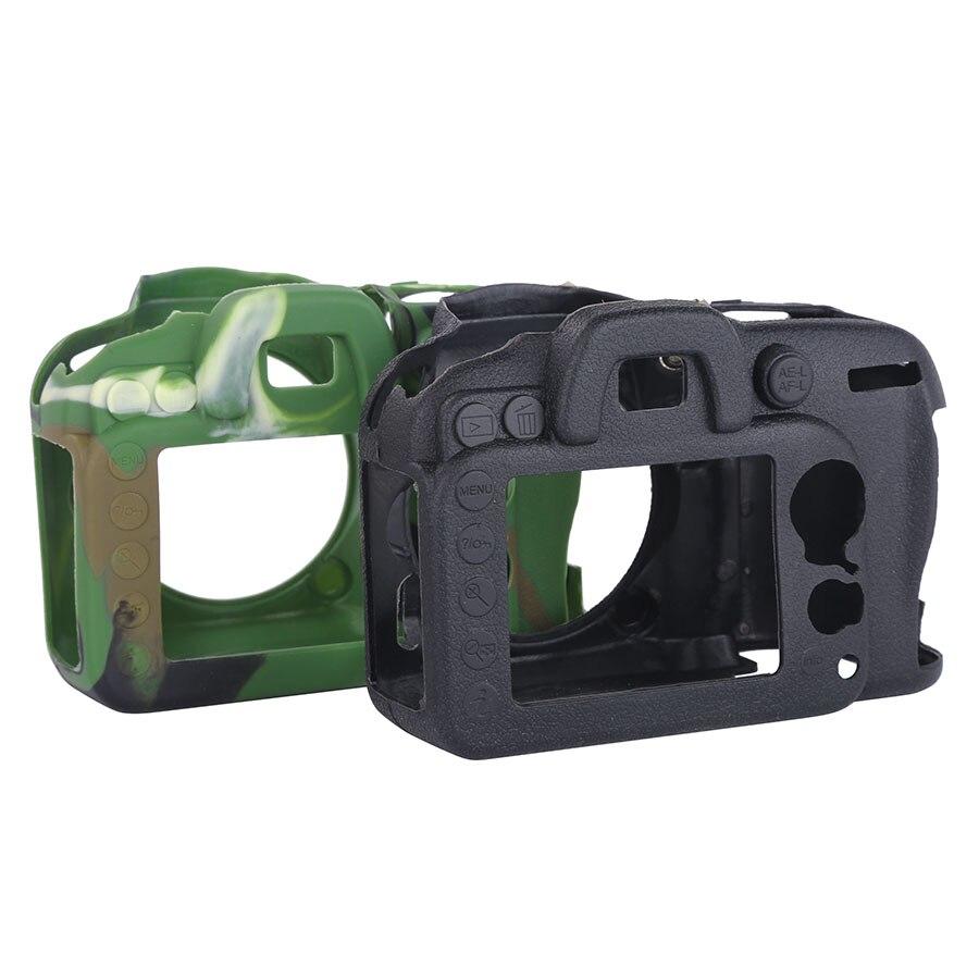 DSLR Caméra Vidéo Sac En Silicone Souple En Caoutchouc Protection Cas pour Nikon D7100 D7200 Appareil Photo Numérique Accessoires