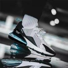 الفلين حذاء كاجوال الرجال أحذية رياضية تنفس الرجال المدرب أحذية رياضية وسادة هوائية أحذية رياضية Zapatillas Hombre Deportiva 270 الهواء Cushi