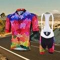 Костюм для верховой езды с короткими рукавами и шортами Emonder  комплект одежды для велоспорта  комфортный индивидуальный рисунок  2019