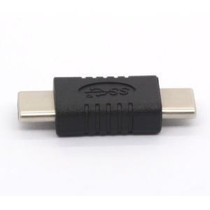 Image 5 - USB C Male to Male Adapter Straight Tiny Type USB 3.1 Type C Connector Converter