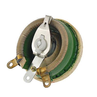 Ceramic Wirewound Potentiometer Adjustable Resistor 100W 100 Ohm golden 8 ohm 100w watt power wirewound resistor metal aluminum shell case strong overload drop shipping