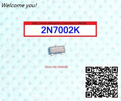 10X 2N7002K Transistor 2n7002 SOT-23 SMD Mosfet